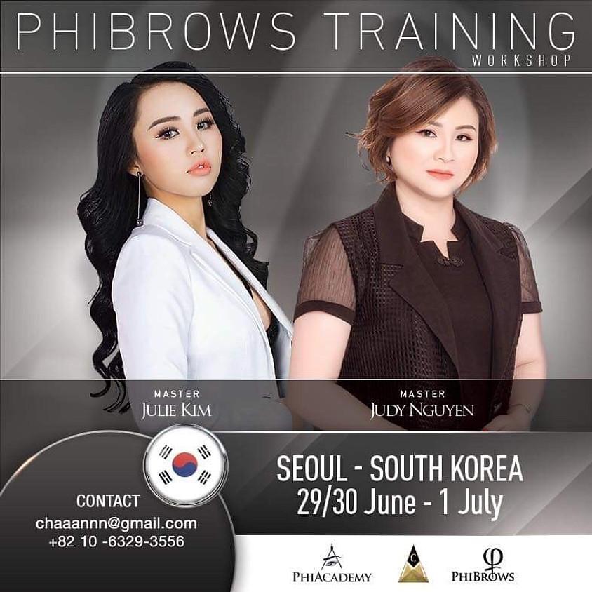 Basic Training in Seoul, Korea