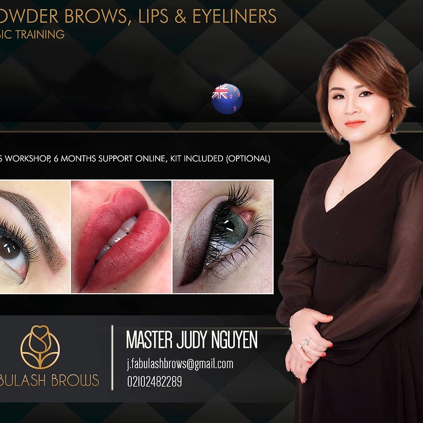 Combination Course (Brows, Lips, Eyeliners)