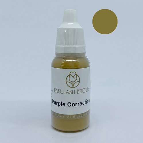 Fabulash Brows Pigment 15ml Purple Correction