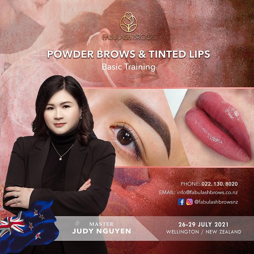 Basic Powder Brows & Tinted Lips - Wellington 26-29 July