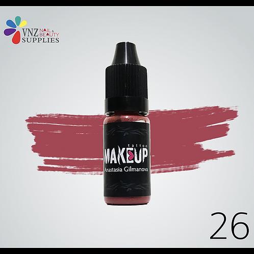 Makeup pigment #26