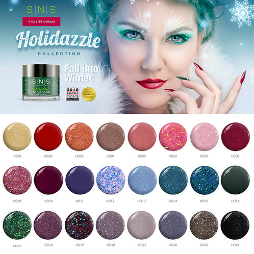 Holidazzle size 1oz (HD01 -HD12)