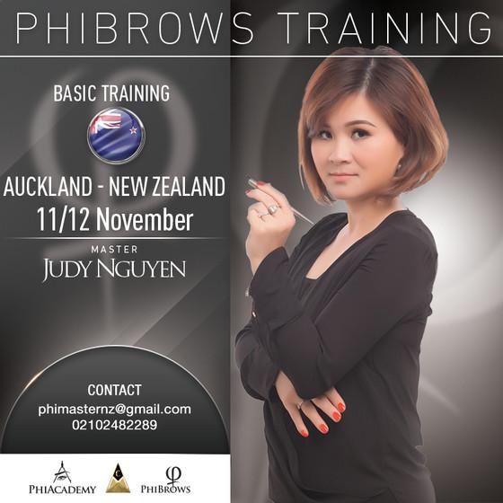 Phibrows Training với Master Judy Nguyen (Tiếng Việt)