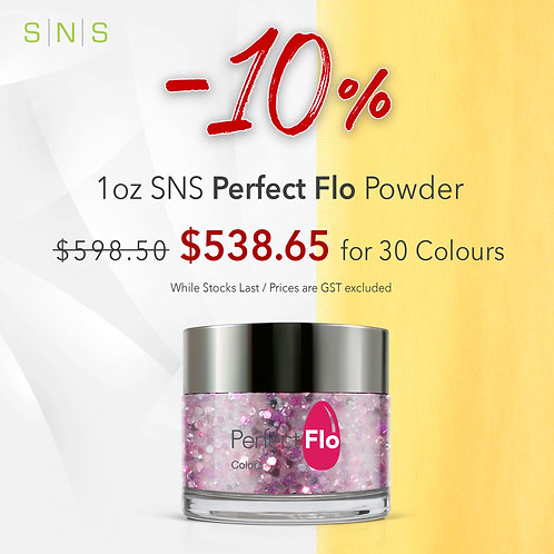 30 SNS Perfect Flo Powder size 1oz