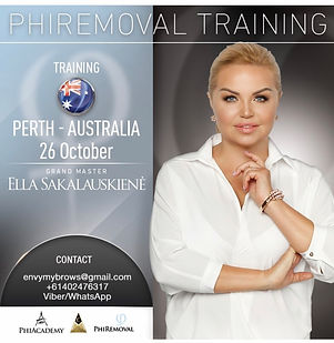 Phi Removal Training Australia