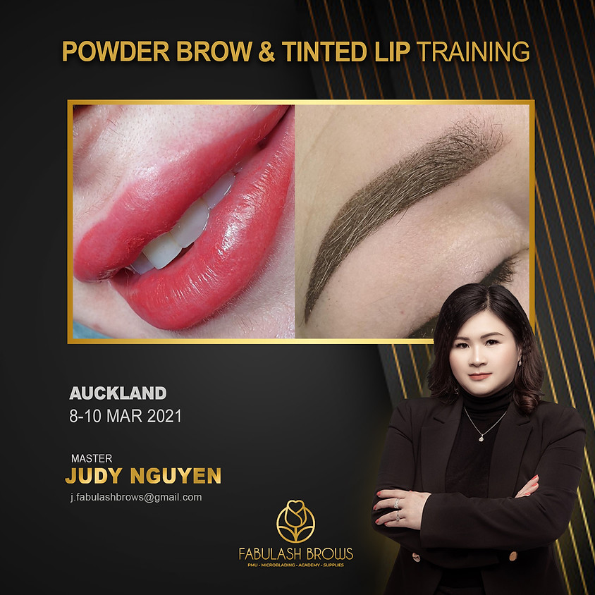 Powder Brow & Lip Tint Course, Auckland