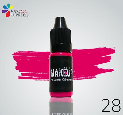 Makeup PMU pigment #28