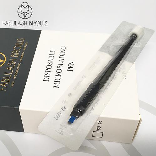 Fabulash Brows Microblading Pen 18U16, box of 10