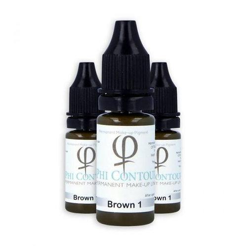 PhiContour Brown 1 Pigment 10ml