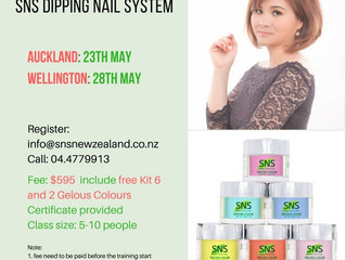 SNS Nails Training Workshop May 2017