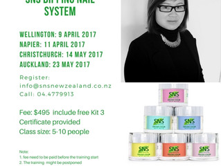 SNS Nails Training Workshop now opens for April 2017