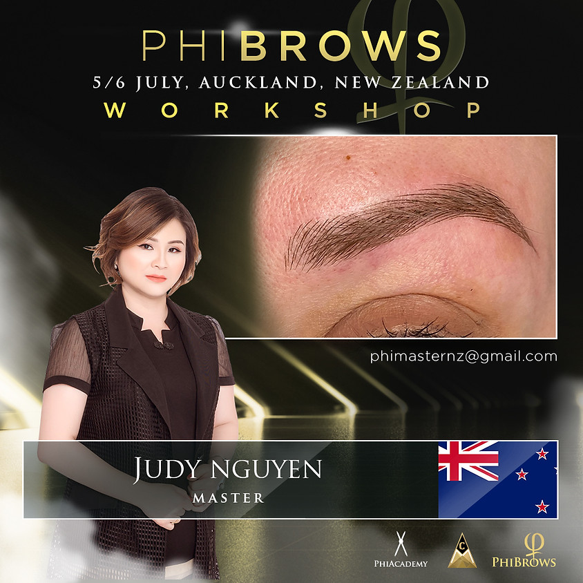Phibrows Microblading Basic Course - Auckland 5-6 July
