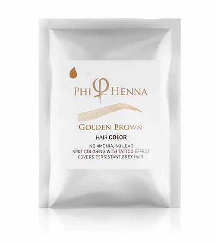 Phi Henna Golden Brown 3/1