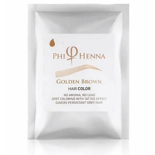 Phi Henna Golden Brown 3/1