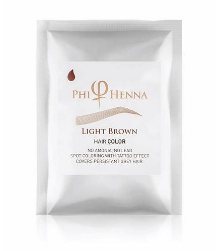 Phi Henna Light Brown 3/1