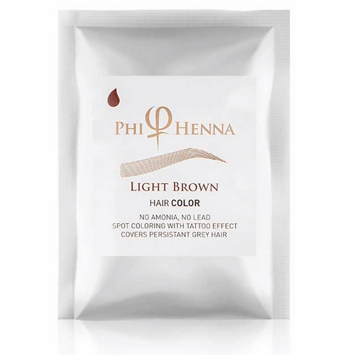 Phi Henna Light Brown 3/1