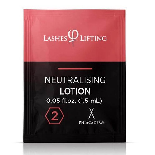 Lashes Lifting Neutralising Lotion Sachets 1.5ml 10pcs