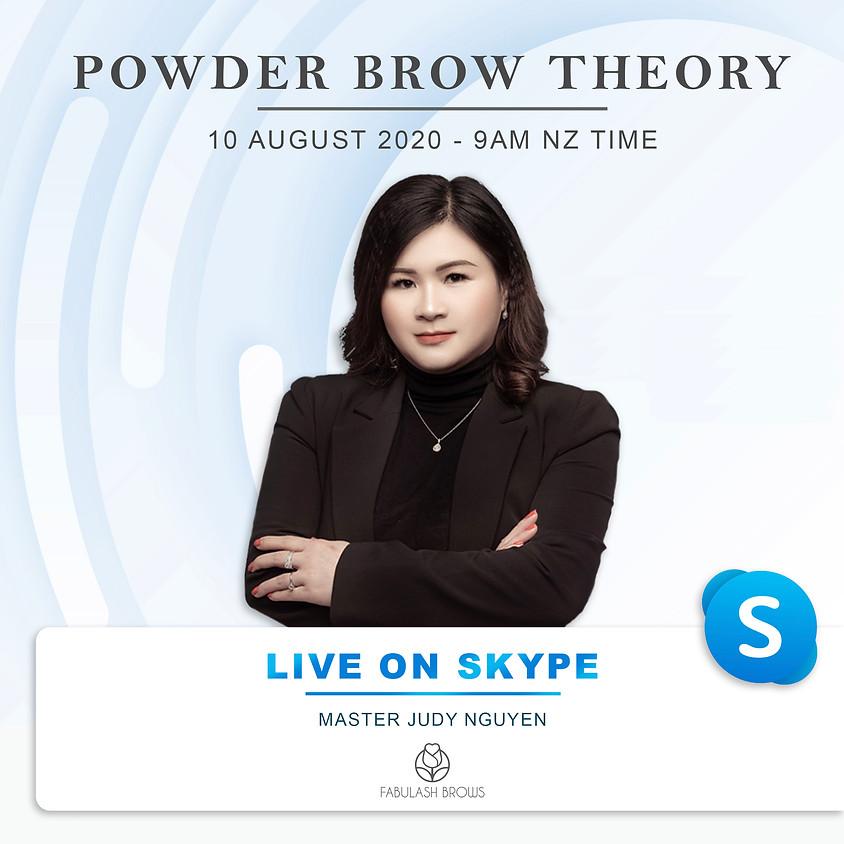 Powder Brow PMU Live Session (Theory)