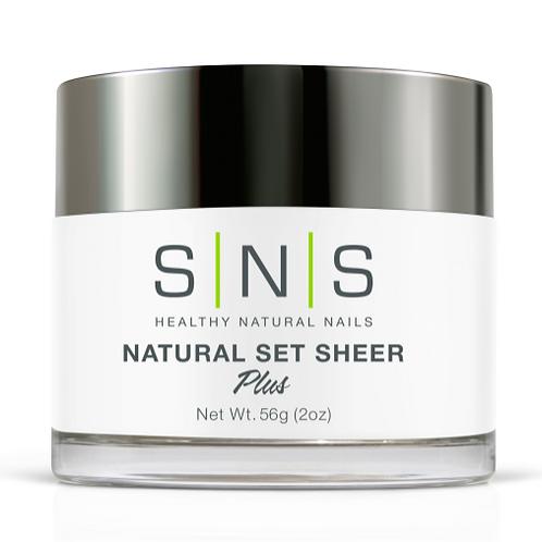 SNS Natural Set Sheer