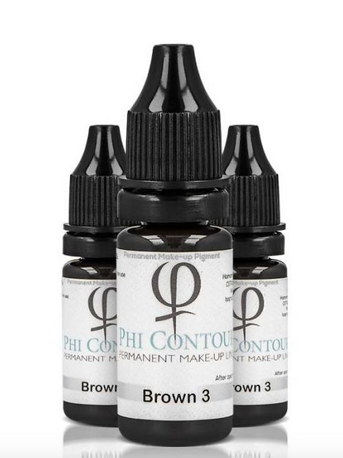PhiContour Brown 3 Pigment 10ml