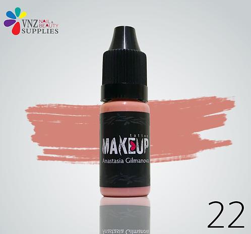 Makeup PMU pigment #22