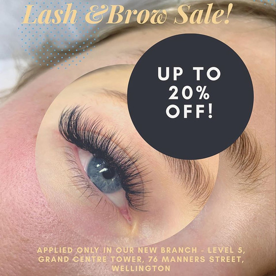 Opening School Day - Up to 20% OFF Lash & Brow Service