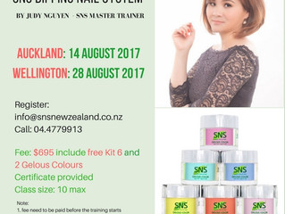 SNS Nails Training Workshop August 2017