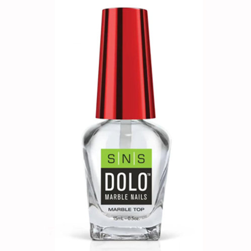 DOLO Marble Nails Top Coat 0.5oz