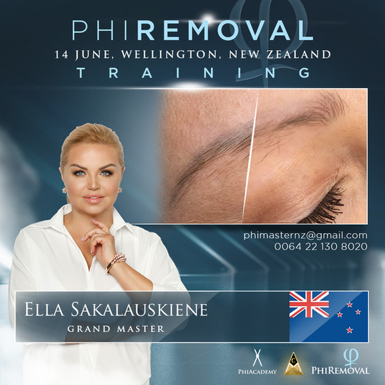 Phi Removal, Effective and Gentle Non-Laser Tattoo Removal