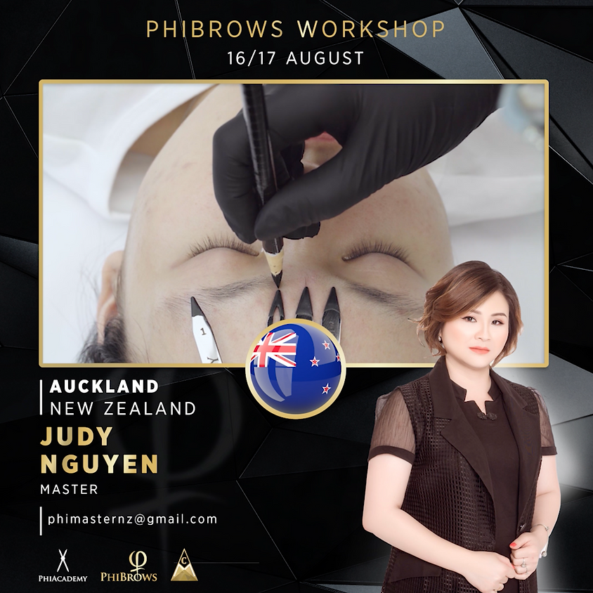 [Fully Booked] Phibrows Basic Training - Auckland 16-17 AUGUST 2020
