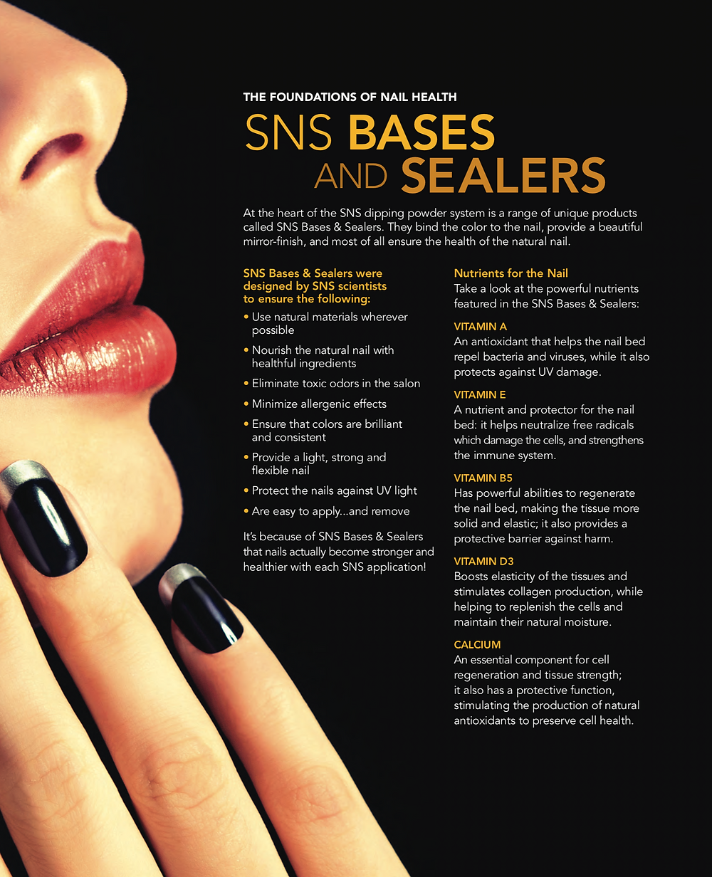 SNS BASES AND SEALERS