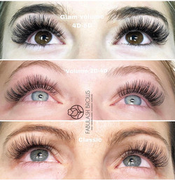 different-lash-extension-styles