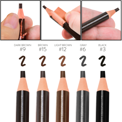 PMU Pencil - Dark Brown