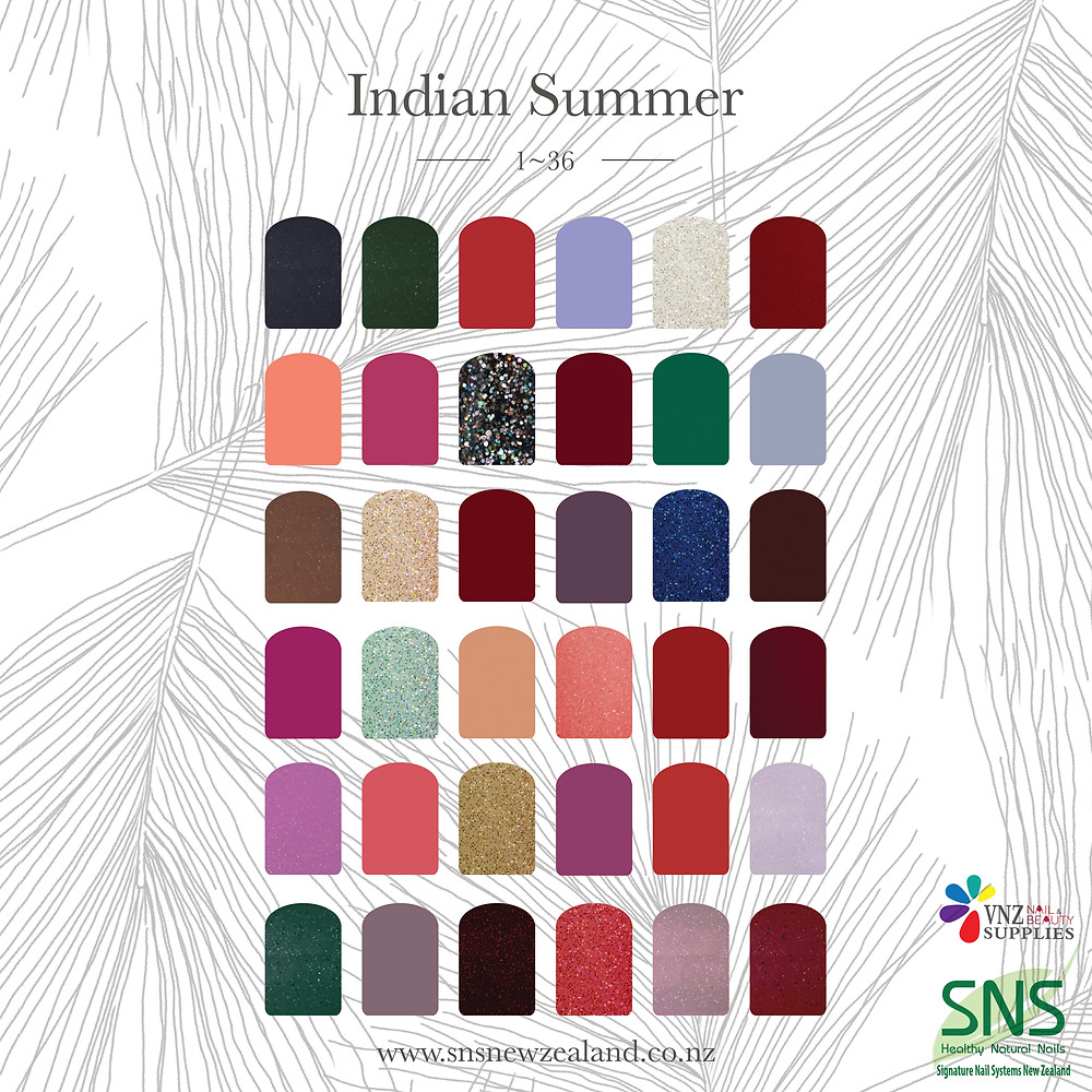Sns Indian summer collection is