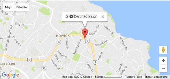 SNS Nails New Zealand Certified Salon