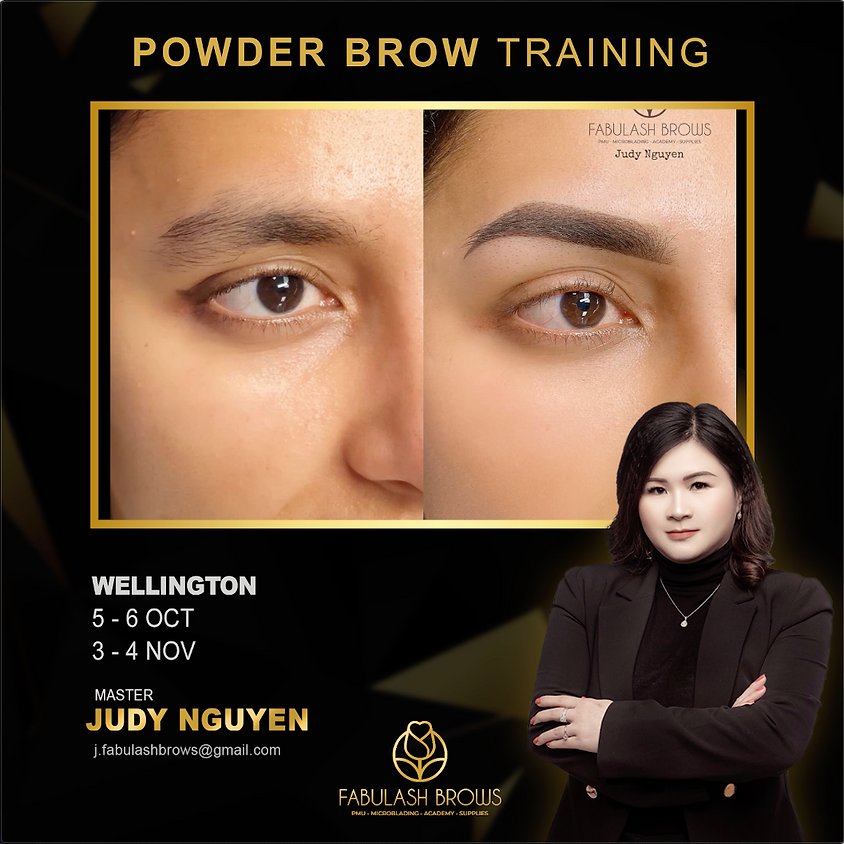 Powder Brow PMU Course - Wellington 3-4 November 2020