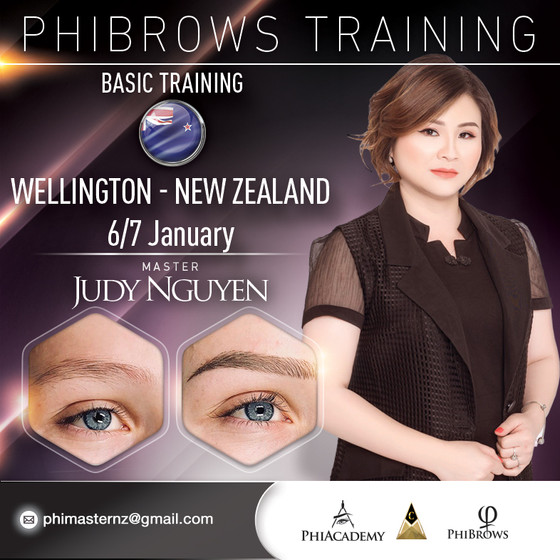 Phibrows Basic Training with Master Judy Nguyen 2019