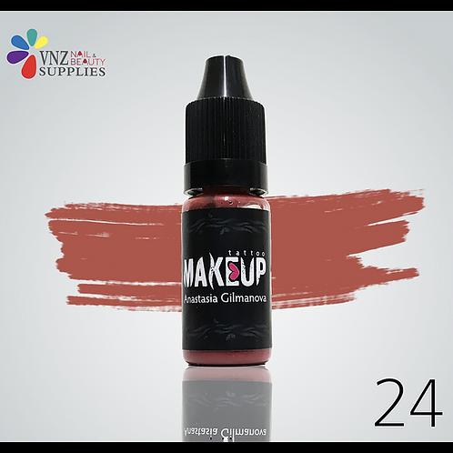 Makeup pigment #24