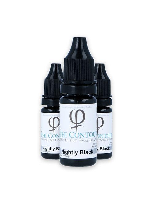 PhiContour Nightly Black Pigment 10ml