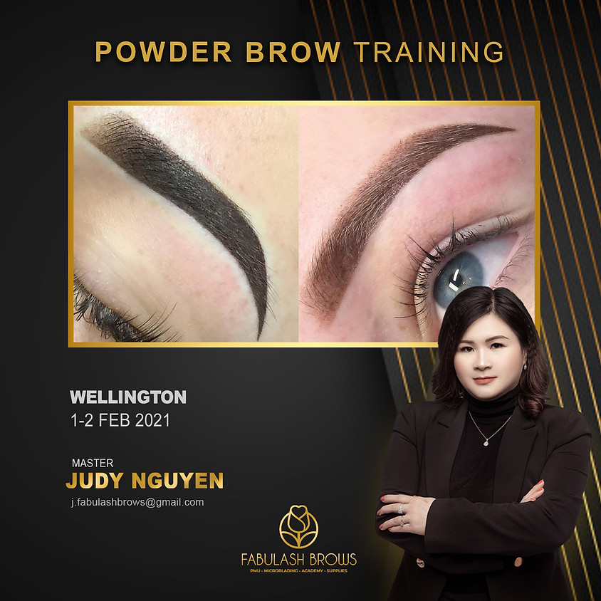 Powder Brow Cosmetic Tattoo - Wellington