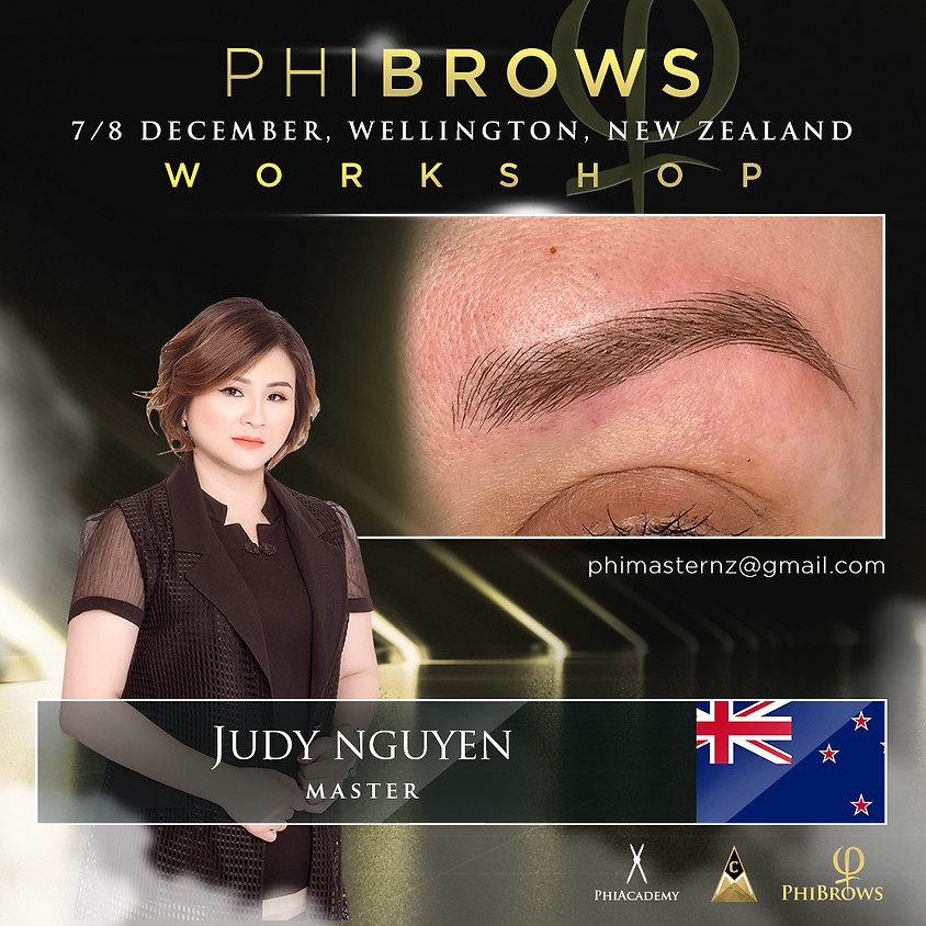 Phibrows Basic Training, Wellington 7-8 December 2020