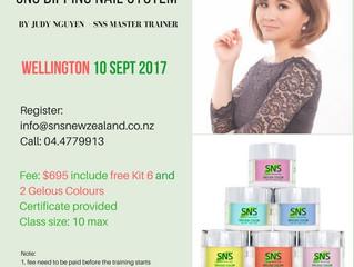SNS Nails Training Workshop September 2017