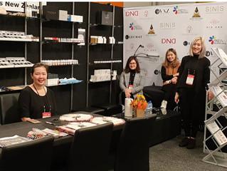 SNS New Zealand at NZ Hair & Beauty Expo 2019.
