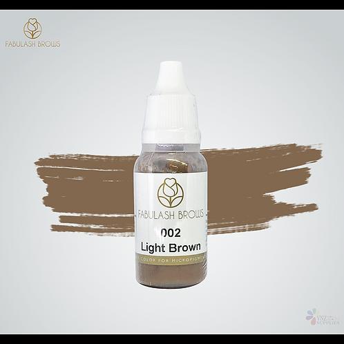Fabulash Brows Pigment 15ml_Light Brown