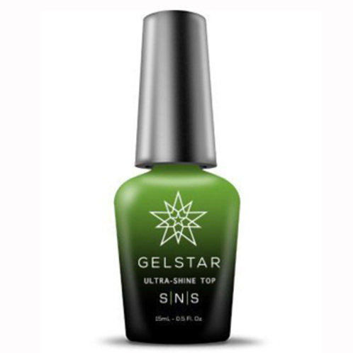 SNS UV Gelstar Ultra-Shine Gel Polish Top