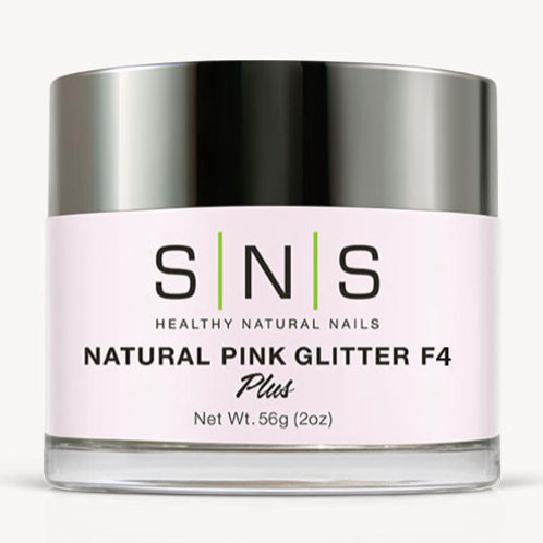 SNS Natural Pink Glitter F4