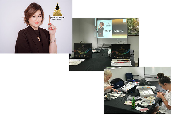 Phi Academy - Phibrows Training with Master Judy Nguyen