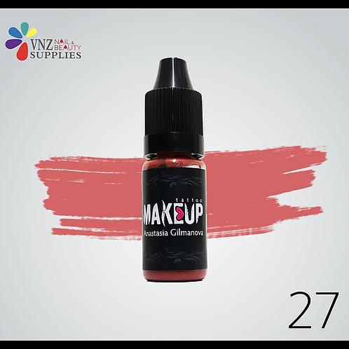 Makeup pigment #27