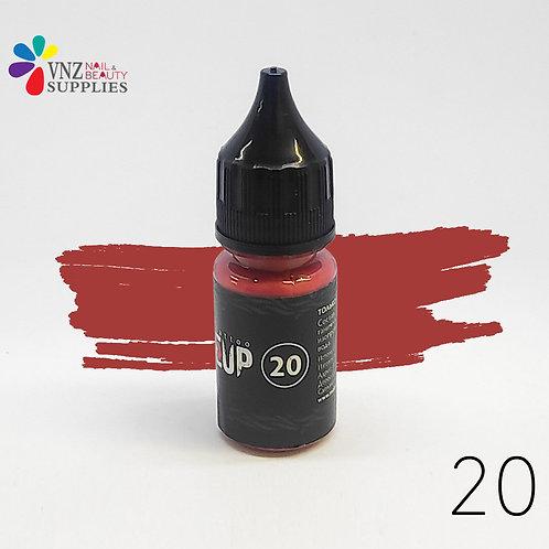 Makeup pigment #20