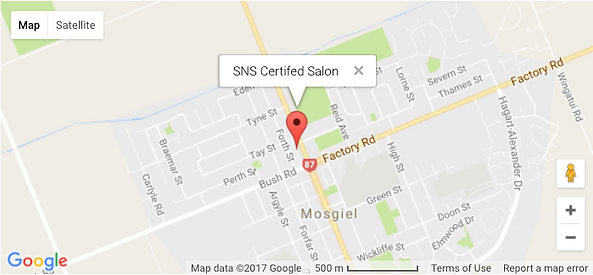 SNS Nails New Zealand Certified Salon